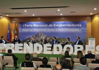César Pontvianne defiende el compromiso de Iberaval con el medio rural en la I Feria Nacional de Emprendedores