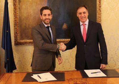 Ayuntamiento de Salamanca e Iberaval unen fuerzas por el emprendimiento creador de empleo
