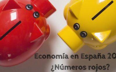 La economía en España 2020: ¿Números rojos?
