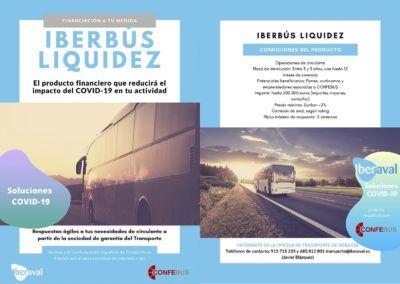 Iberaval y CONFEBUS canalizan liquidez al transporte en autobús durante la crisis del COVID-19