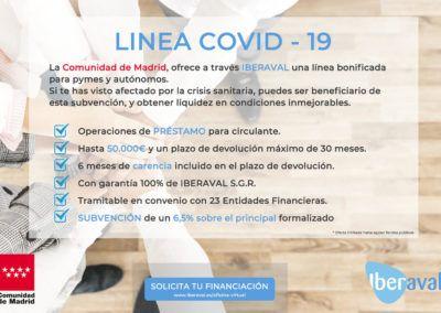 Iberaval pone en marcha una línea COVID-19 con la Comunidad de Madrid que bonificará los préstamos