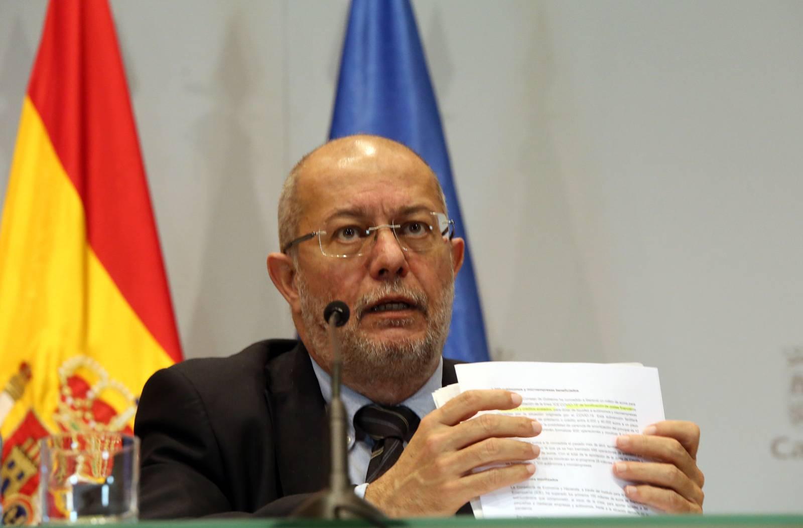 El vicepresidente de la Junta de Castilla y León, Francisco Igea