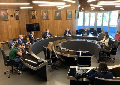 Ayudas de hasta 2.500 euros para pymes de Lalín gracias al convenio de Iberaval con el Concello lalinés