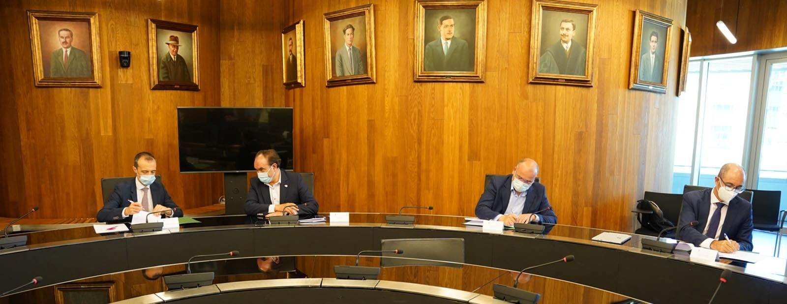 Convenio con el Ayuntamiento de Lalín con Pedro Pisonero