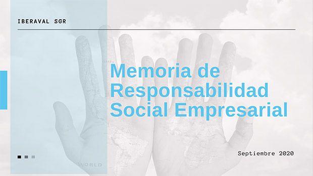 Memoria de RSE 2020