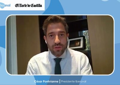 Pontvianne pone como modelo la colaboración privado-pública desplegada en Castilla y León para hacer frente a la crisis del coronavirus
