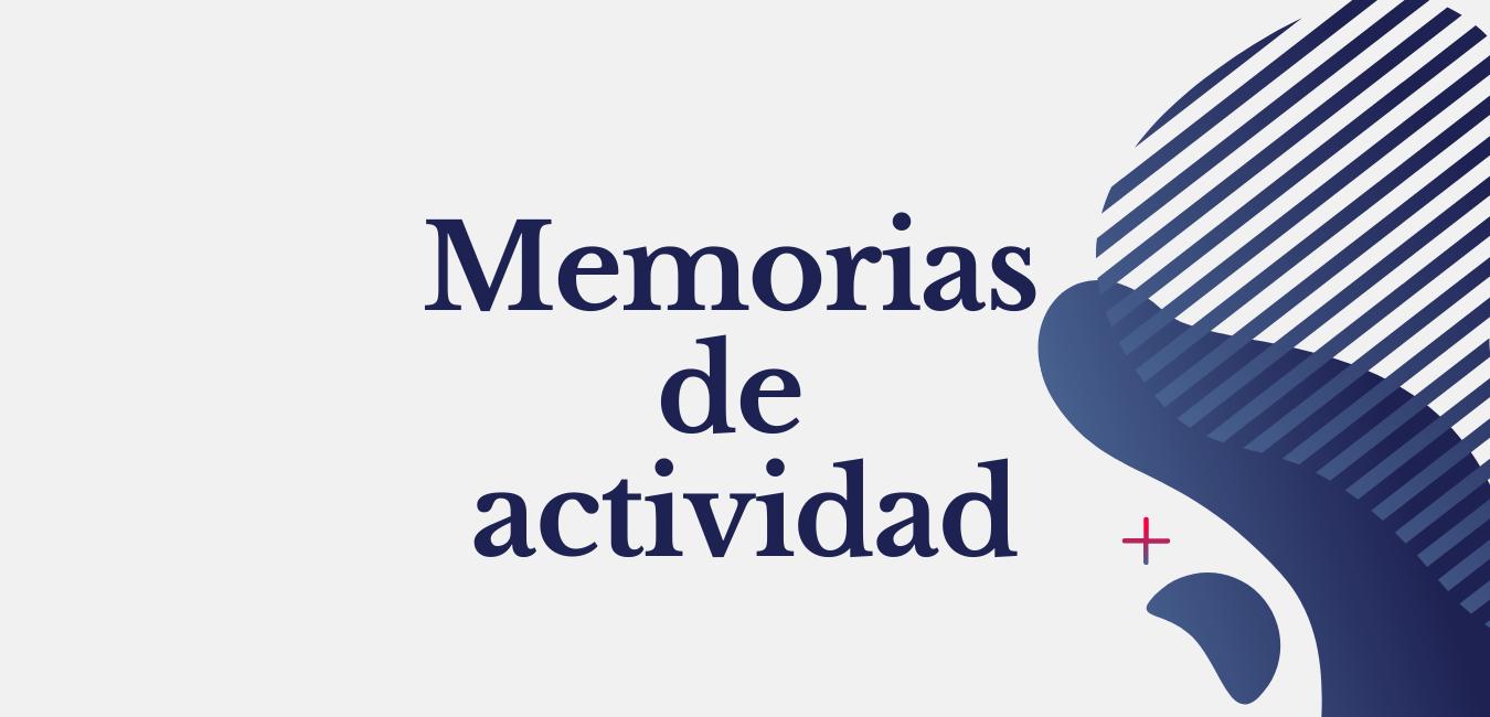 Memorias de actividad