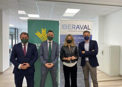 Caja Rural de Teruel se incorpora como socio protector de Iberaval para respaldar la financiación de autónomos y pymes