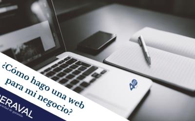 ¿Cómo hago una web para mi negocio?