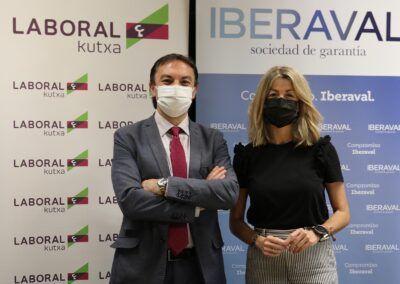 Iberaval y Laboral Kutxa renuevan su compromiso en favor de las pymes y autónomos