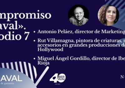 Apoyo al turismo riojano, empresas sostenibles y arte cinematográfico, protagonistas del episodio 7 de compromiso iberaval